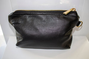 Reindeer leather make-up bag by Kinos Design made in Rovaniemi Finland
