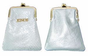 Card Case New Edition! Silver White Bag
