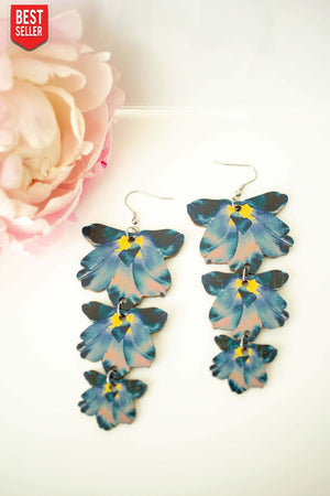 Summertime Trio Earrings by Kinos Design's Season's Gems Collection