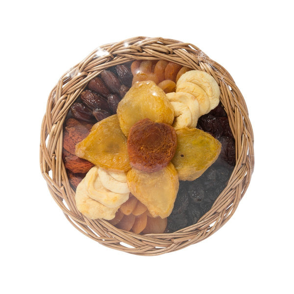 VACAVILLE Dried Fruits - Dates & Apple Swirl Basket  (566.9g)