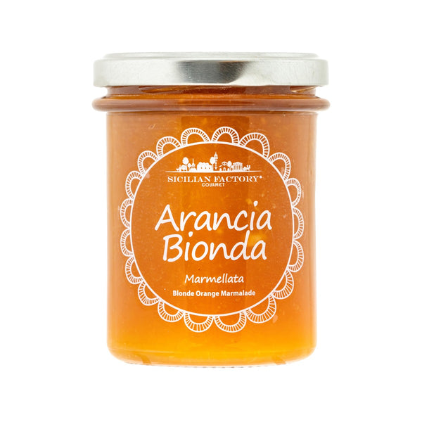 SICILIAN FACTORY Orange Marmalade  (240g)