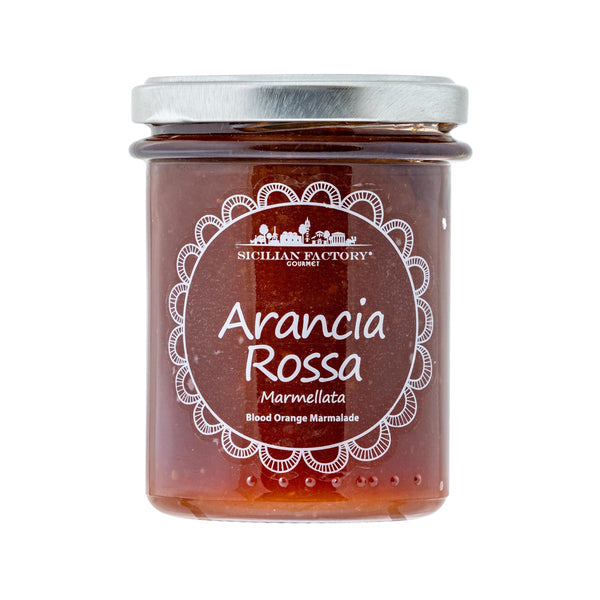 SICILIAN FACTORY Blood Orange Marmalade  (240g)