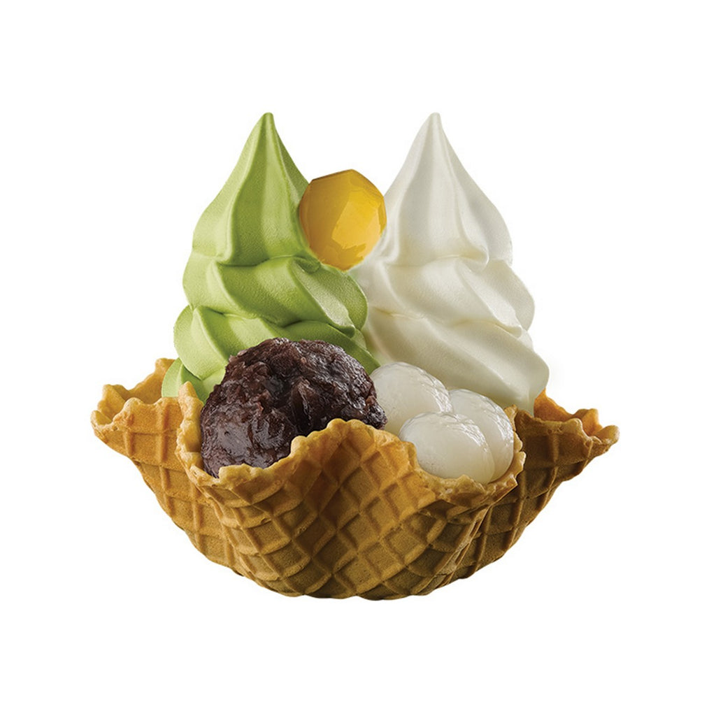 CHA CHA S. Double Soft Cream Waffle Cup - Deluxe  (1pc)