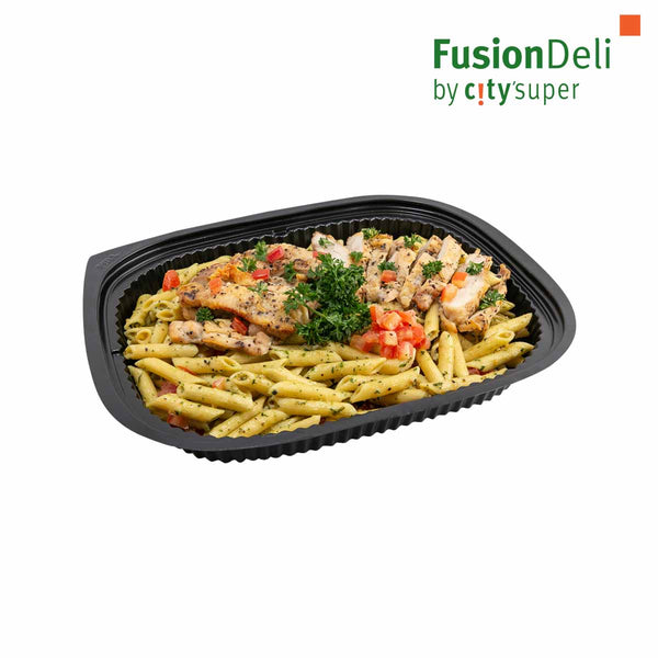 Chicken Pasta with Pesto Sauce