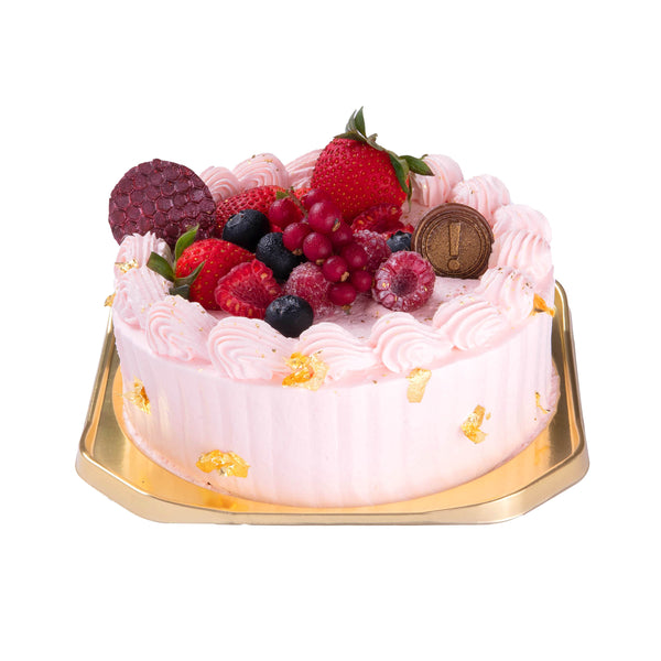SWEET COMPLEX Strawberry Cream Cake  (1pc)