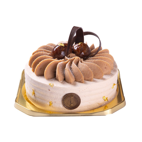 SWEET COMPLEX Chestnut Cream Cake  (1pc)