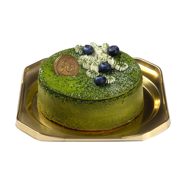 SWEET COMPLEX Matcha Cheese Cake 13cm  (1pc)