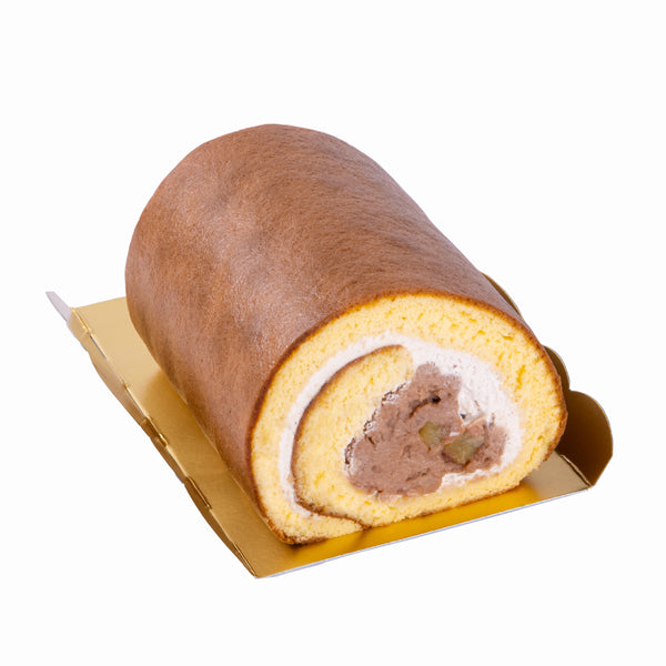 SWEET COMPLEX Soybean Chestnut Rolled Cake  (1pc)