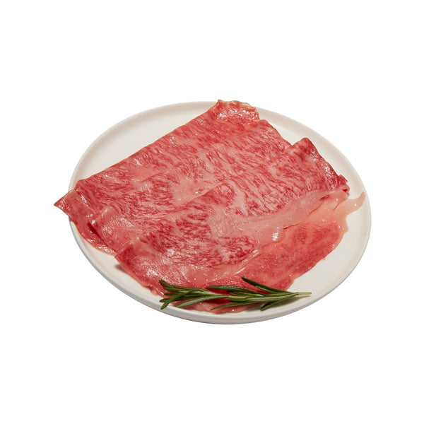 Japan Yamagata  Chilled A5 Grade Wagyu Beef Rib Eye for Sukiyaki (PC / 200g)