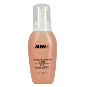 MENZ PERFECT CLEANSING FOAM & TONER 2-in-1