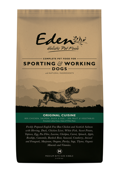 Eden 80/20 Working & Sporting Original Cuisine Dog Food