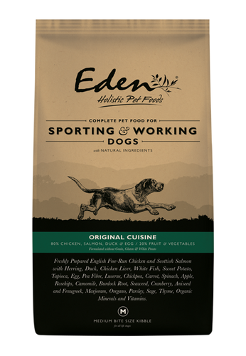 Eden 80/20 Working & Sporting Original Cuisine Dog Food 15kg