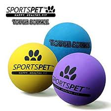 SPORTSPET Tough Bounce Ball