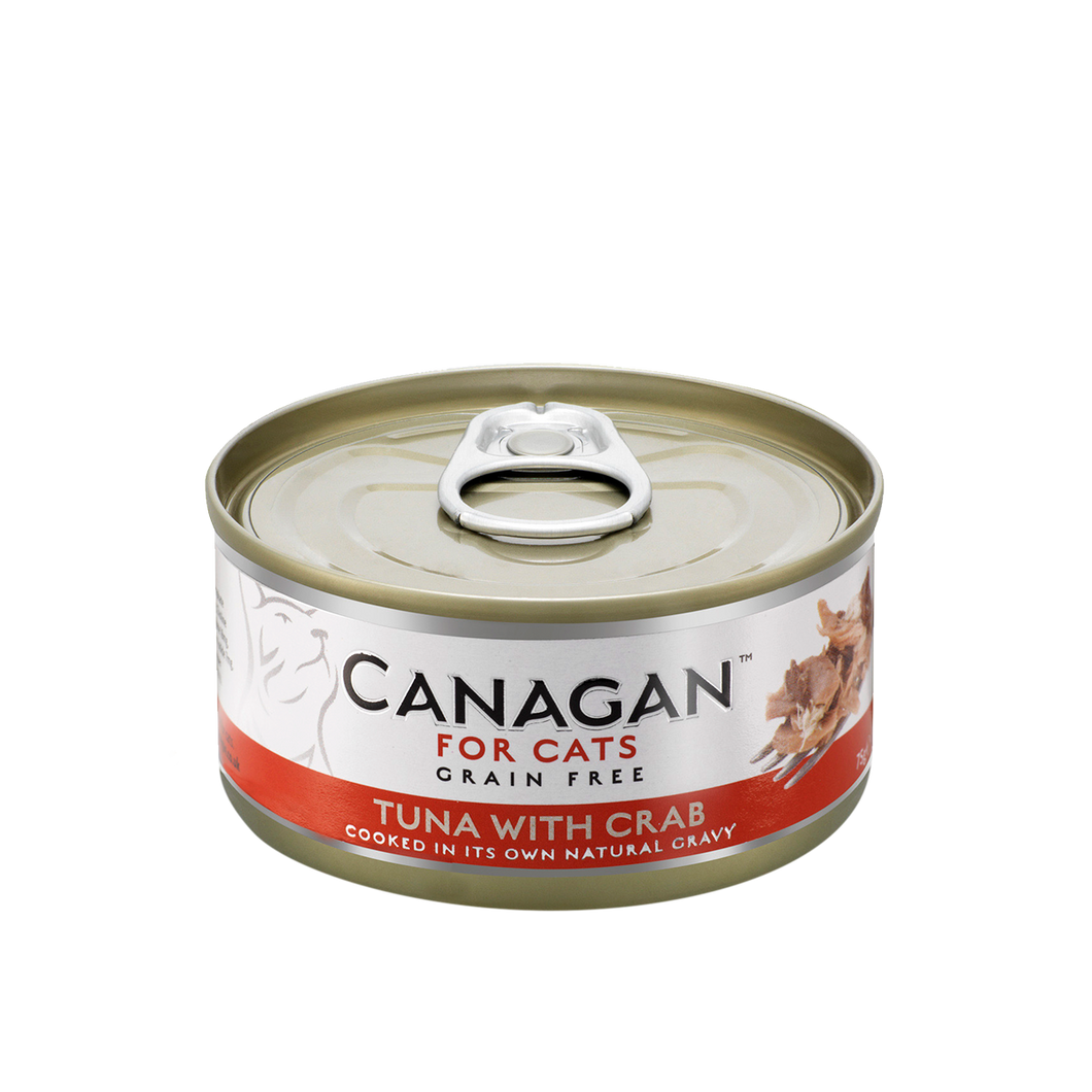 Canagan Tuna with Crab for Cats 75g