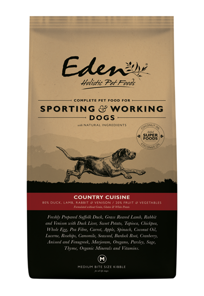 Eden 80/20 Working & Sporting Country Cuisine Dog Food