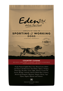 Eden 80/20 Working & Sporting Country Cuisine Dog Food 15kg