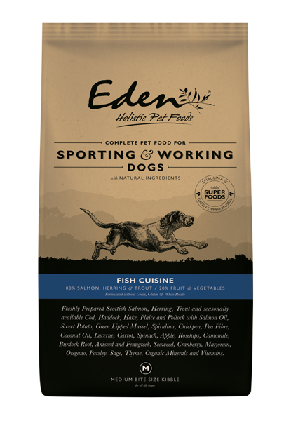 Eden 80/20 Working & Sporting Fish Cuisine Dog Food