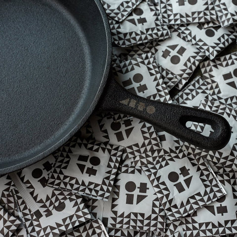 Cast-iron Chef's Skillet