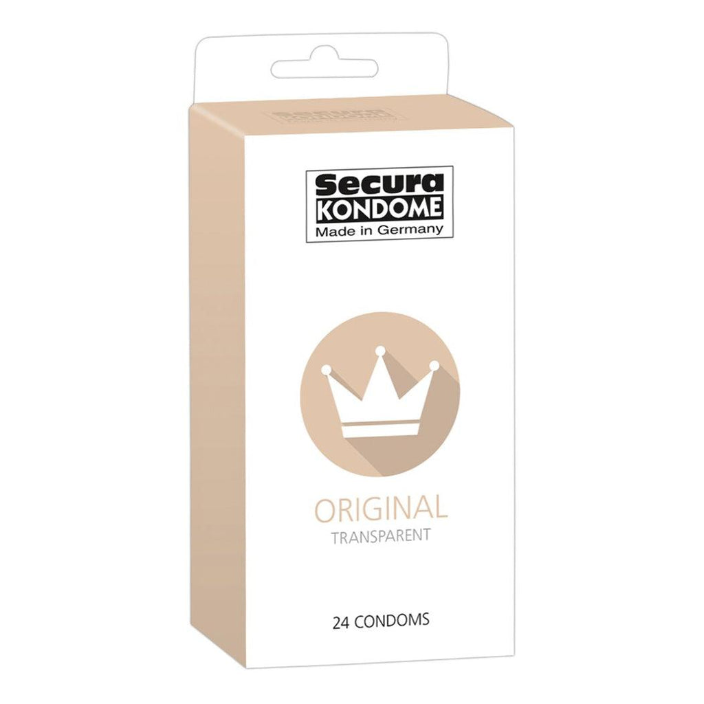 Secura Kondome Original Transparent x24 Condoms - Adult Planet