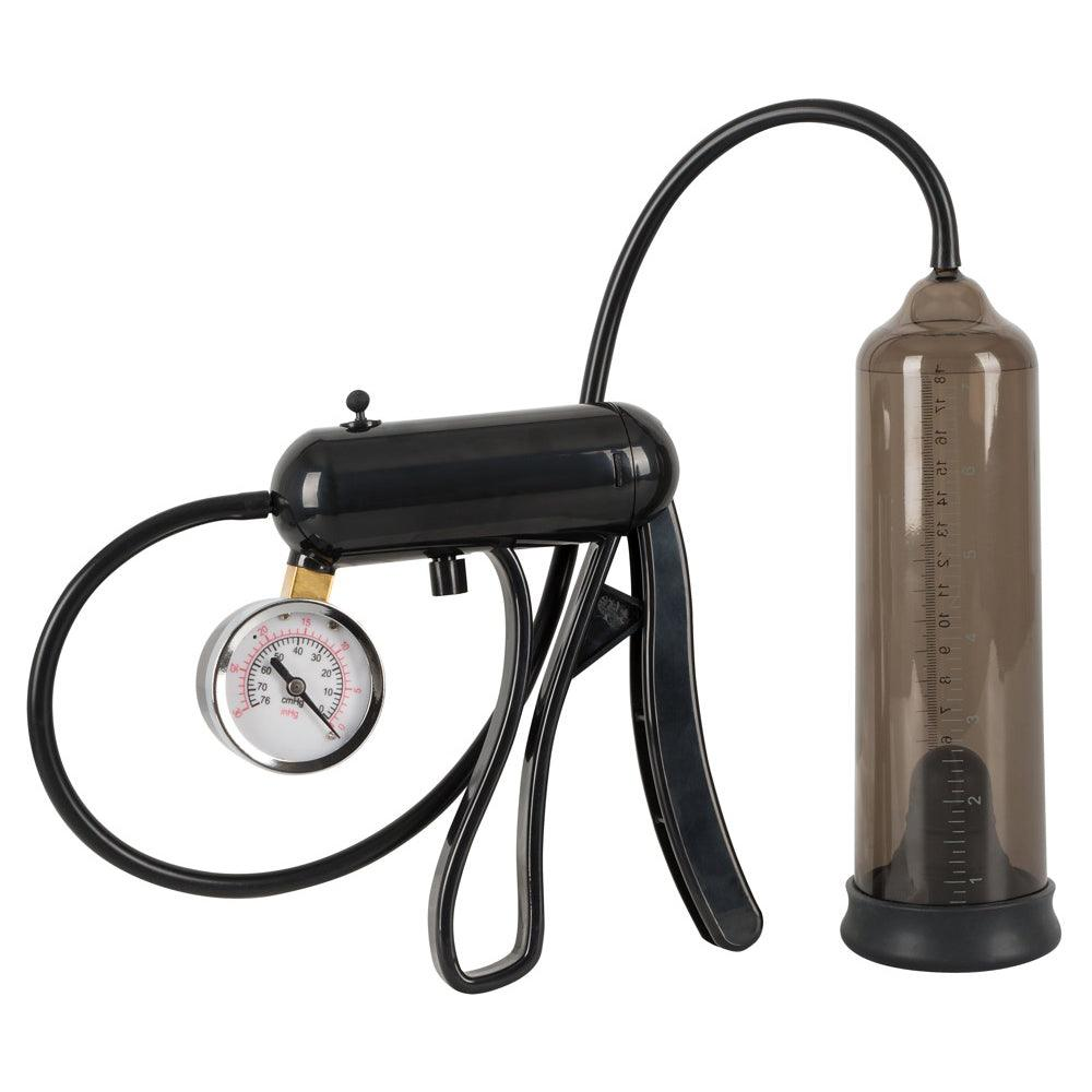 Mister Boner Professional Penis Pump With Gauge - Adult Planet