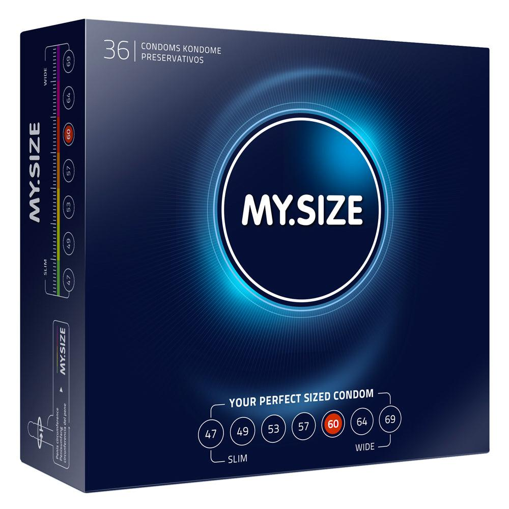 My.Size 60mm Condom 36 Pack - Adult Planet