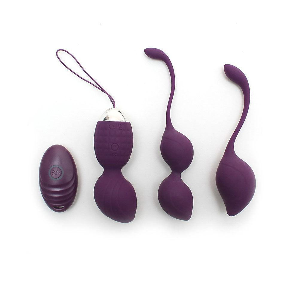 Rimini Vibrating Kegel Ball Set With Remote Control
