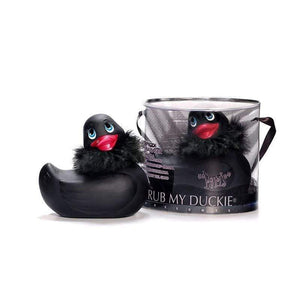 I Rub My Paris Duckie (Black) - Adult Planet