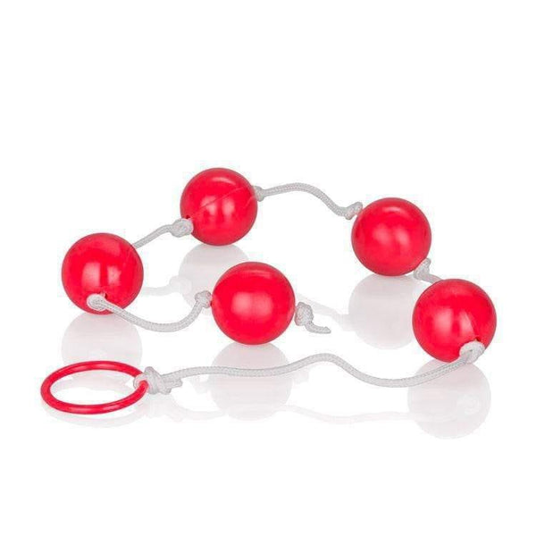 Large Pleasure Anal Beads Assorted Colours - Adult Planet