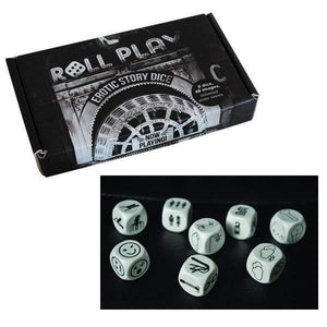 Roll Play Dice Game - Adult Planet