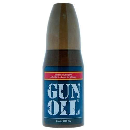 Gun Oil Silicone 8oz Lubricant - Adult Planet