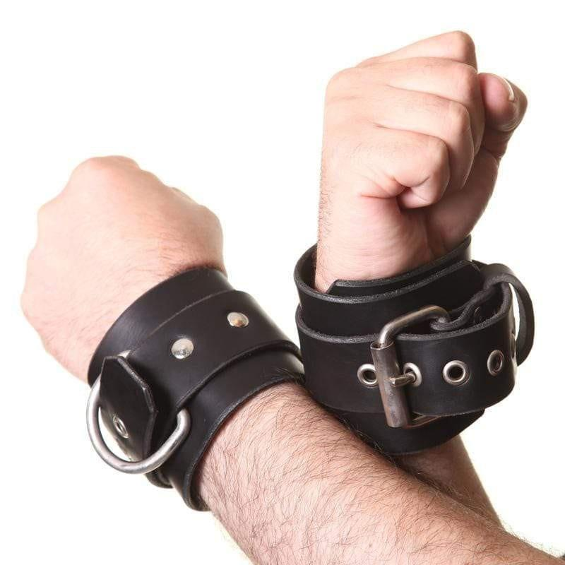 House Of Eros Mighty Wrist Cuffs - Adult Planet
