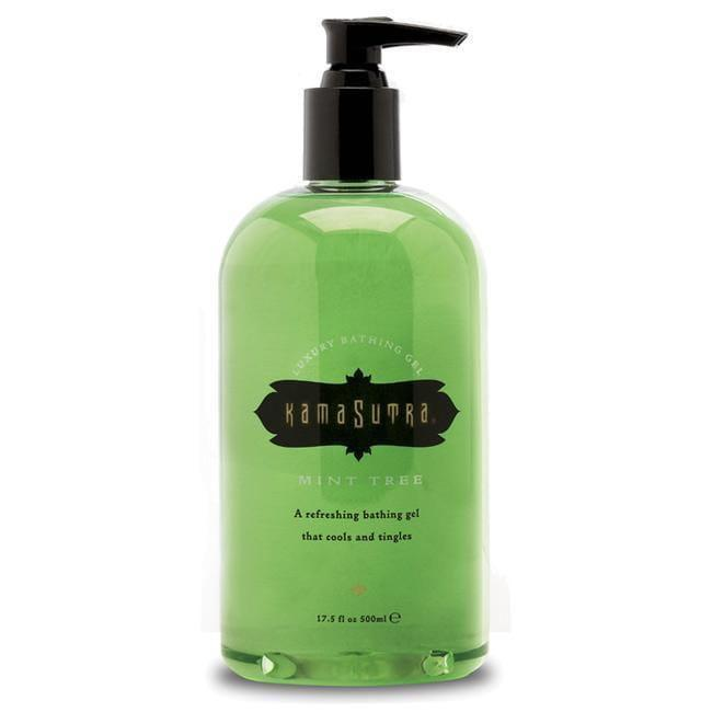 Kama Sutra Luxury Bathing Gel Mint Tree 500ml - Adult Planet