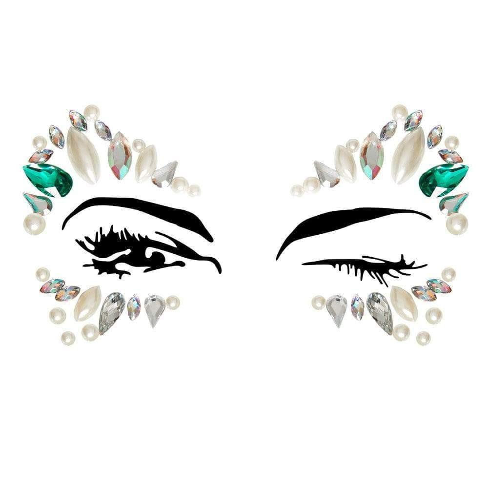 Arista Eye Jewels Sticker EYE001 - Adult Planet