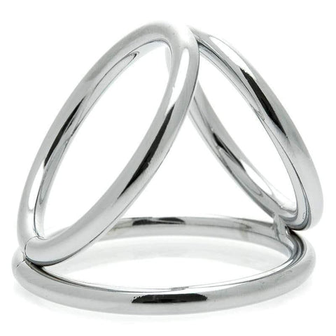 The Triad Chamber Cock And Ball Ring Large - Adult Planet