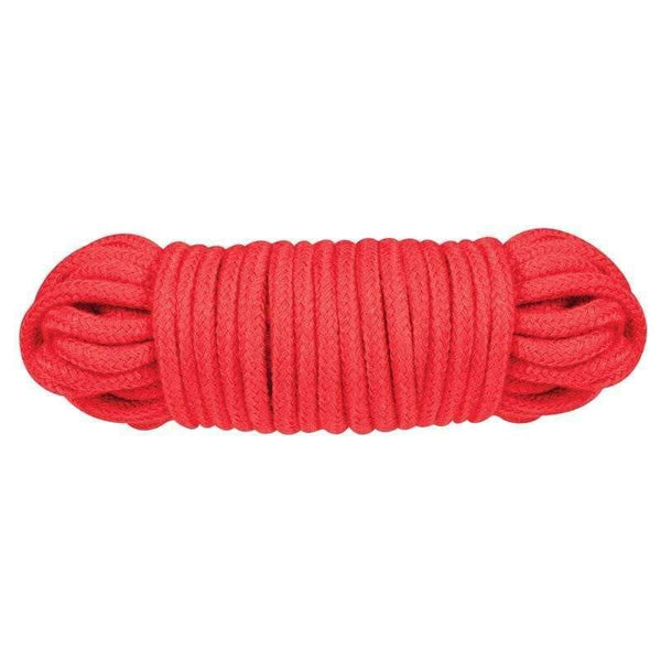 Red 10 Metre Sex Extra Love Rope Red - Adult Planet