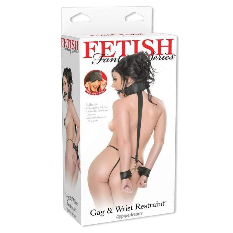 Fetish Fantasy Series  Gag And Wrist Restraint - Adult Planet