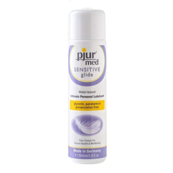 Pjur Med Sensitive Glide Intimate Personal Lubricant 100ml - Adult Planet