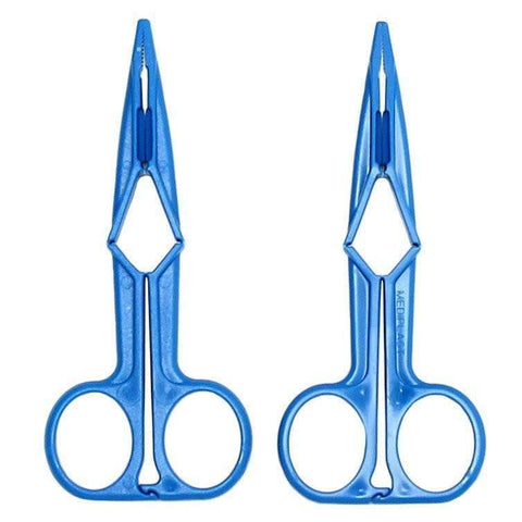 Blue Scissor Nipple Clamps - Adult Planet
