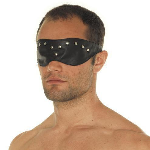 Leather Blindfold Mask - Adult Planet