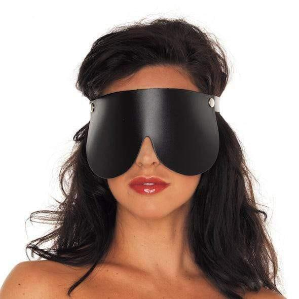 Leather Blindfold - Adult Planet