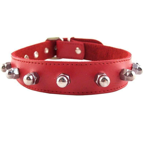 Rouge Garments Red Nut Collar - Adult Planet