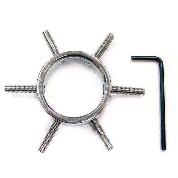 Rouge Stainless Steel Cock Clamp Ring - Adult Planet