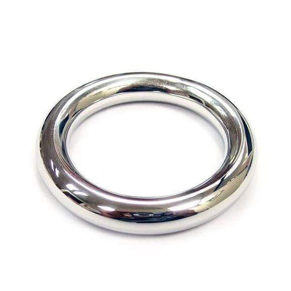 Rouge Stainless Steel Round Cock Ring 45mm - Adult Planet