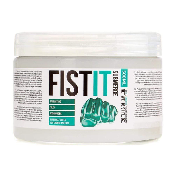 Fist It Submerge Petroleum Jelly 500ml - Adult Planet
