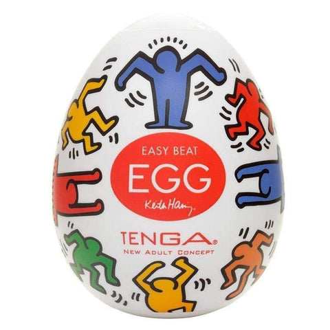 Tenga Keith Haring Dance Egg Masturbator - Adult Planet