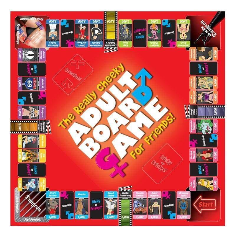 The Really Cheeky Adult Board Game For Friends - Adult Planet