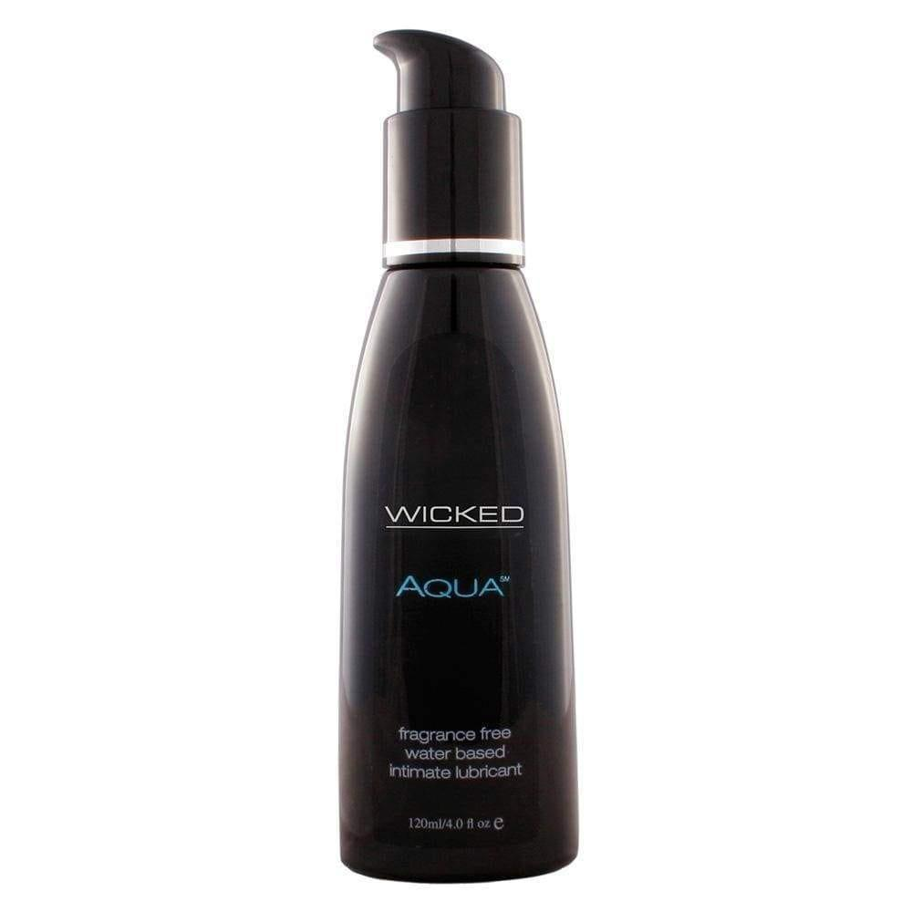 Wicked Aqua Fragrance Free Water Based Lube 120ml - Adult Planet