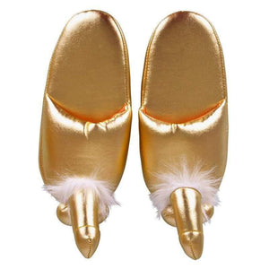 Golden Penis Slippers - Adult Planet