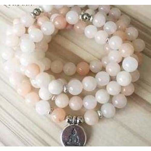Load image into Gallery viewer, Aventurine 108 Bead Meditation Bracelet - SOUL IMPACTFUL
