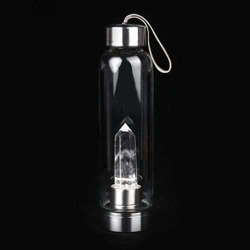 Load image into Gallery viewer, Crystal Elixir Water Bottle - SOUL IMPACTFUL